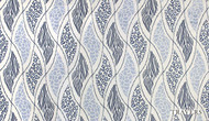 Uf_2091 'Safari' | Curtain & Upholstery fabric - Blue, Eclectic, Fiber blend