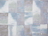 Zimmer and Rohde Symphony   Sunset  - 10651.424  | Curtain & Upholstery fabric - Blue, Eclectic, Natural fibre, Natural, Semi-Plain