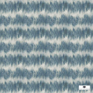 Chivasso Around The World Zoom - CH2872/020    Curtain Fabric - Blue, Stripe, Synthetic, Wide Width