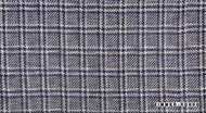 Uf_1374 'Liberty' | Curtain Fabric - Blue, Check, Eclectic, Synthetic fibre