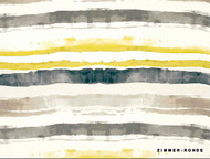 Uf_1716 '' | Curtain Fabric - Gold - Yellow, Eclectic, Natural fibre, Stripe, Many-Coloured, Natural