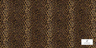 Uf_1886 'CA1012/020' | Curtain & Upholstery fabric - Brown, Contemporary, Dot, Natural fibre, Domestic Use, Dots and Spots, Natural