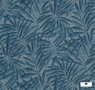 Uf_3288 'CH9116/010' | - Blue, Fiber blend, Floral, Garden, Traditional, Tropical, Commercial Use
