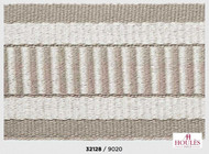 Uf_3691 'De' | Gimps & Braids, Curtain & Upholstery Trim - White, Fiber blend, Traditional, White