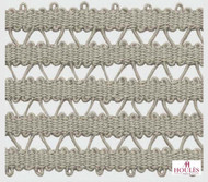 Uf_3694 'De' | Gimps & Braids, Curtain & Upholstery Trim - White, Natural fibre, Traditional, White, Natural
