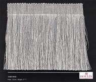 Houles Neox   33007 Neox Cut Fringe 120  - 33007.9010  | Fringe, Curtain & Upholstery Trim - Silver, Synthetic, Traditional