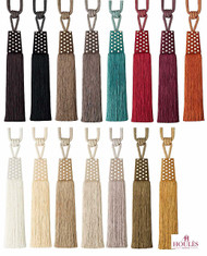 Houles Gallery   35757 Gallery Tieback  - 35757.9000  | Tie back, Curtain Accessory - Contemporary, Fiber blend, Multi-Coloured