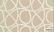 Ardecora Les Annees Folles Broadway - 15334.885  | Curtain Fabric - Beige, White, Contemporary, Natural Fibre, Tan, Taupe, Transitional, Natural, White, Standard Width