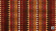 Uf_1311 'Brick' | Curtain & Upholstery fabric - Brown, Red, Fiber blend, Red, Traditional, Domestic Use