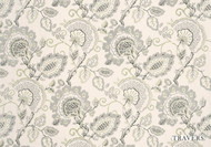 Travers Windermere/Bloomsbury   Windermere  - 40076.795  | Curtain Fabric - Grey, Craftsman, Floral, Garden, Jacobean, Natural fibre, Traditional, Natural