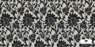 chivasso Monsoon  Chivasso  Manna  - CH2794/020  | Upholstery Fabric - Black, Craftsman, Floral, Garden, Synthetic fibre, Traditional, Black - Charcoal, Domestic Use