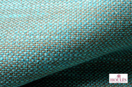 Uf_2841 'Capri' | Curtain & Upholstery fabric - Blue, Fiber blend, Turquoise, Teal, Domestic Use