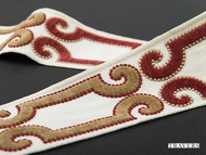 Uf_3568 '60012/326'   Gimps & Braids, Curtain & Upholstery Trim - Brown, Synthetic fibre, Traditional