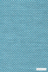 Pegasus Vidos - Aqua  | Upholstery Fabric - Plain, Synthetic, Turquoise, Teal, Chevron, Zig Zag, Commercial Use