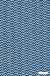 Pegasus Vidos - Azure  | Upholstery Fabric - Blue, Plain, Outdoor Use, Synthetic, Washable, Commercial Use, Herringbone