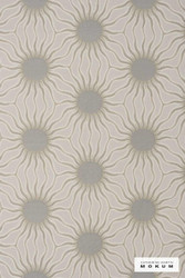 Catherine Martin By Mokum Helios - Sand 821  | Upholstery Fabric - Grey, Deco, Decorative, Organic, Synthetic, Tan, Taupe, Commercial Use