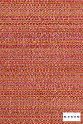 mok_12223-109 'Coral' | Upholstery Fabric - Organic, Southwestern, Synthetic fibre, Pink - Purple, Commercial Use