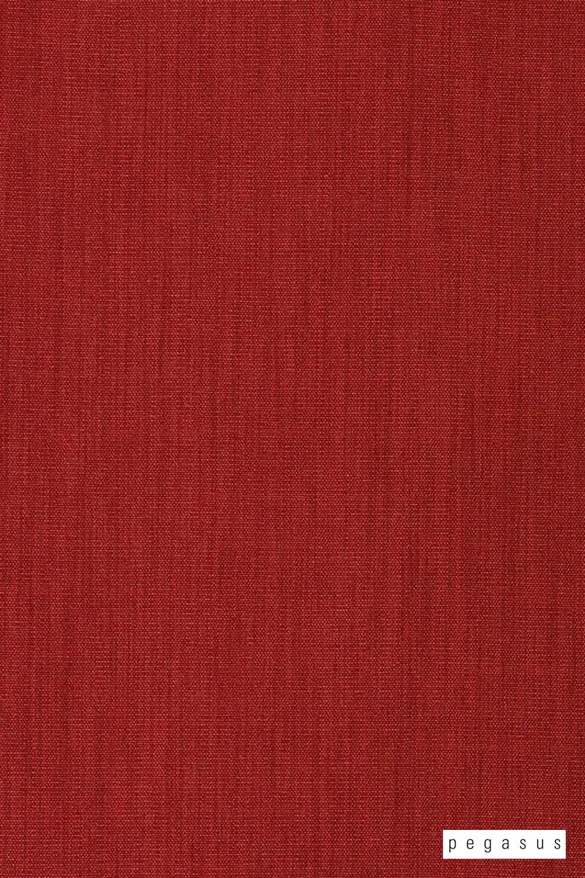 Pegasus Bonny UC - Salsa  | Curtain Fabric - Fire Retardant, Plain, Red, Fiber blend, Commercial Use, Dry Clean, Top of Bed