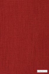 Pegasus Bonny UC - Salsa  | Curtain Fabric - Plain, Red, Fiber blend, Commercial Use, Top of Bed