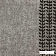 Designs Of The Time Taka - 12006  | Curtain Fabric - Plain, Contemporary, Natural fibre, Pattern, Southwestern, Tan - Taupe, Domestic Use, Natural