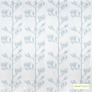 Hemptech Flax Pod - Misty Blue  | Curtain Fabric - Deco, Decorative, Natural fibre, Turquoise, Teal, Washable, Domestic Use, Natural