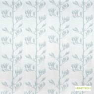 Hemptech Flax Pod - Misty Blue  | Curtain Fabric - Deco, Decorative, Natural Fibre, Turquoise, Teal, Washable, Domestic Use, Natural, Standard Width