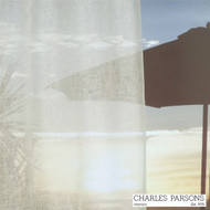 Charles Parsons Parisi - Cashmere  | Curtain Sheer Fabric - Plain, White, Natural Fibre, Uncoated, Domestic Use, Natural, White, Weighted Hem, Wide Width
