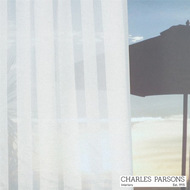 Charles Parsons Lorne - White  | Curtain Sheer Fabric - White, Stripe, Synthetic, Uncoated, Washable, Domestic Use, White