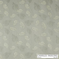 Silver' | Curtain Fabric - Grey, Craftsman, Fiber blend, Floral, Garden, Uncoated, Washable, Domestic Use