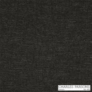Charles Parsons Massimo - Caviar  | Curtain & Upholstery fabric - Plain, Black - Charcoal, Synthetic, Uncoated, Commercial Use, Standard Width