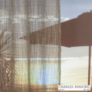 Charles Parsons Uluru - Tobacco  | Curtain Sheer Fabric - Brown, Fibre Blends, Stripe, Uncoated, Washable, Domestic Use, Weighted Hem, Wide Width