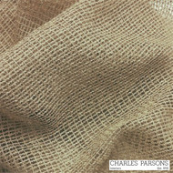 Charles Parsons Rossini - Beige  | Curtain Sheer Fabric - Brown, Fire Retardant, Plain, Synthetic, Uncoated, Domestic Use, Weighted Hem, Wide Width