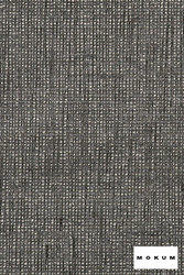 Mokum Hollywood - Tourmaline  | Upholstery Fabric - Fire Retardant, Plain, Black - Charcoal, Natural Fibre, Domestic Use, Dry Clean, Natural, Standard Width