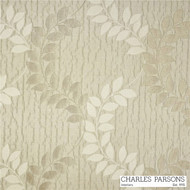 Charles Parsons Christelle - Creme Brulee  | Curtain Fabric - Beige, Craftsman, Floral, Garden, Synthetic, Traditional, Washable, Commercial Use, Standard Width