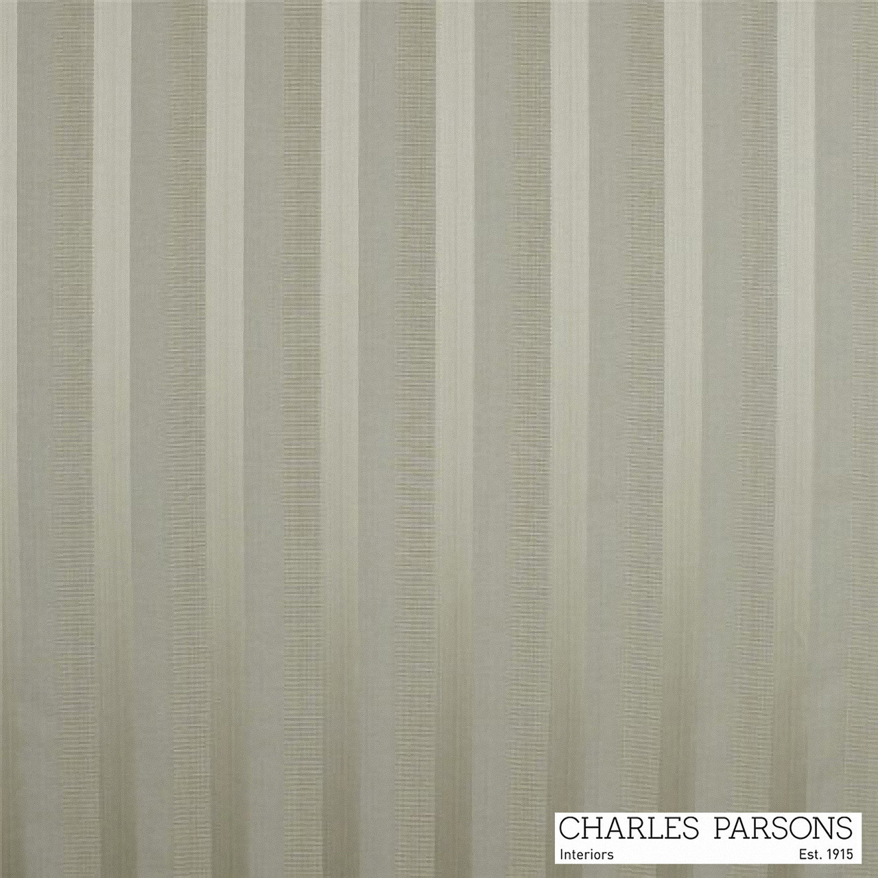 Mocha' | Curtain & Upholstery fabric - Grey, Fiber blend, Stripe, Traditional, Uncoated, Washable, Commercial Use
