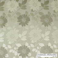 Taupe' | Curtain & Upholstery fabric - Craftsman, Fiber blend, Floral, Garden, Uncoated, Washable, Tan - Taupe, Commercial Use