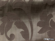 Burnish' | Curtain Fabric - Brown, Damask, Fiber blend, Floral, Garden, Traditional, Tan - Taupe, Domestic Use
