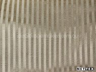 Taupe' | Curtain Fabric - Fiber blend, Stripe, Traditional, Tan - Taupe, Domestic Use