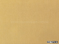 Pass' | Curtain Fabric - Gold - Yellow, Plain, Coated, Synthetic fibre, Domestic Use