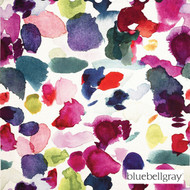 bluebellgray Philippe - Multi    Curtain & Upholstery fabric - Blue, Contemporary, Deco, Decorative, Multi-Coloured, Natural fibre, Pink, Purple, Domestic Use, Dry Clean, Natural, Top of Bed