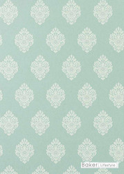 Bal_PW78037_3 'Teal' | - Blue, Damask, Traditional