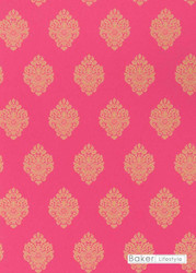 Bal_PW78037_4 'Fuchsia' | - Gold - Yellow, Damask, Eclectic, Traditional