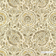 ' | Curtain & Upholstery fabric - Beige, Gold - Yellow, Grey, Mediterranean, Natural fibre, Natural, Print