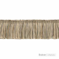 Baker Lifestyle - Nushi - Taupe  | Fringe, Curtain & Upholstery Trim - Beige, Natural fibre, Traditional, Tan - Taupe, Natural