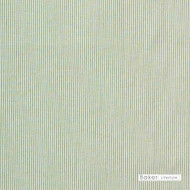 Baker Lifestyle - Pinstripe - Light Green  | Curtain & Upholstery fabric - Natural Fibre, Stripe, Traditional, Natural, Standard Width