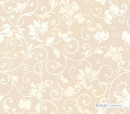 Bal_9750_1 'Ivory' | Curtain & Curtain lining fabric - Beige, White, Floral, Garden, Synthetic fibre, Transitional, White
