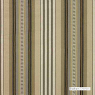 Stripe' | Curtain & Upholstery fabric - Beige, Brown, White, Natural fibre, Stripe, Traditional, White, Natural