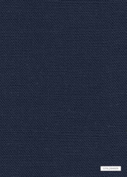 GPJ Baker - Lea - Indigo  | Curtain & Upholstery fabric - Blue, Plain, Natural fibre, Weave, Natural