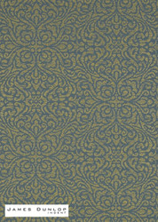 James Dunlop Indent - Lace Wallpaper - Jewel  | Wallpaper, Wallcovering - Blue, Green, Damask, Fiber blend, Traditional, Domestic Use