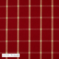 jdi_12099-105 'Cardinal' | Curtain & Upholstery fabric - Fire Retardant, Red, Check, Farmhouse, Fiber blend, Geometric, Gingham, Red, Commercial Use, Top of Bed